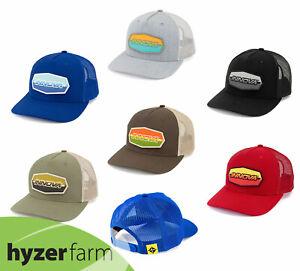 INNOVA STRIPED BAR PATCH.SNAP BACK MESH HAT *pick a color* Hyzer Farm disc golf