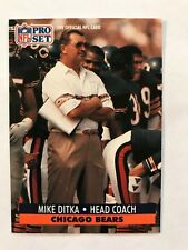 1991 Pro Set Football Card #108 Mike Ditka Chicago Bears HOF NM/MT
