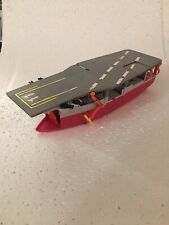 Vintage 1988 Lewis GALOOB Micro Machines AIRCRAFT CARRIER Incomplete