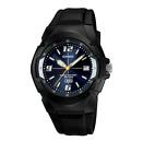 Casio Enticer MW-600F-2AVDF Black Resin Strap Analog Men's Watch