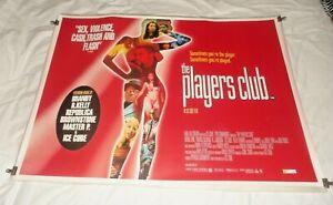 The Players Club Original UK Quad Movie Cinema Poster 1998 Ice Cube