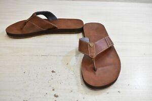 Guess Dothan Sandals, Men's Size 12 M, Dark Natural