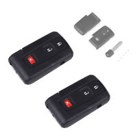 2PCS Remote Key Fob Shell Case 3 Button for 04-2009 Toyota Prius Keyless Entry