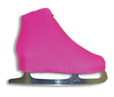A&R Pro Series Lycra/Nylon Blend Figure Skate Boot Cover, Neon Pink