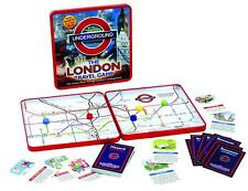 London Underground Rail Game Magnetic Travel Board Strategy Trains Stations