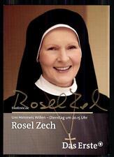 Rosel Zech (+)  Um Himmels Willen Autogrammkarte Original Signiert ## BC 6855