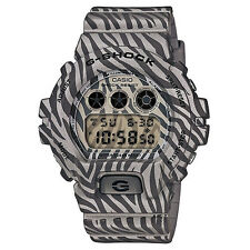 G-Shock DW-6900ZB-8ER Men's Grey Zebra Stripe Camouflage Edition BNIB UK Seller