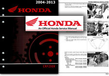 Honda CRF250X Service Workshop Repair Shop Manual CRF 250 2004 to 2013