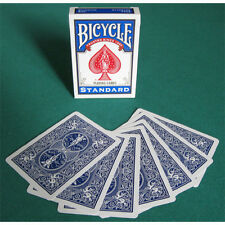 Singola Carta Bicycle Gaff Cards doppio dorso Blu/Blu US2211