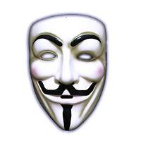 Nuevo Adultos Anonymous V Cara Aterrador Máscara Vendetta Tipo Halloween Fun