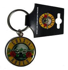 Official Guns N Roses - Bullet Logo - Enamel Metal Keyring