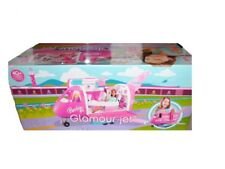 Barbie Glamour Jet Plane Airplane With Doll Mattel 2008 (Discontinued by manu...