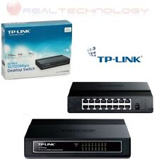 TP-Link TL-SF1016D Switch Fast Ethernet 16 Porte - Nero