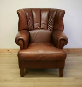 Tetrad Blake Leather Armchair / Chair