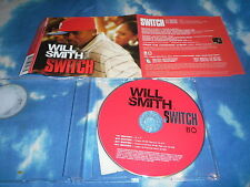 WILL SMITH - SWITCH UK CD SINGLE W/RARE MIXES, - FDTF