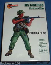 MARS 32005 US MARINES. VIETNAM WAR - 1/32 SCALE UNPAINTED PLASTIC FIGURES