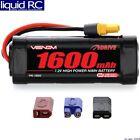 Venom Racing 15022 Venom 7.2V 1600mAh 6 Cell NiMh Battery with Universal Plug Sy
