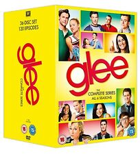 GLEE COMPLETE SERIES SEASON 1,2,3,4,5,6 BOXSET 36 DISC 1-6 REGION 4 120 EPISODES