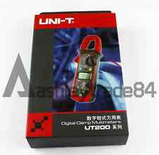 UNI-T UT204A DMM Voltmeter AC DC Meter Digital Handheld Clamp Multimeter Tester