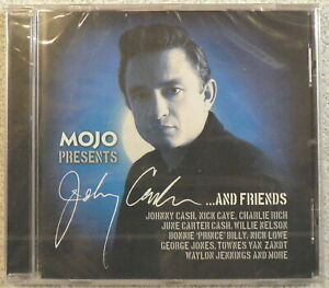 MOJO Johnny Cash And Friends SEALED 2013 CD NICK CAVE BAD SEEDS TOWNES VAN ZANDT