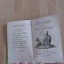 LE PETIT SORCIER OU ESPOIR ET CRAINTE GRAVURES ALMANACH 1817