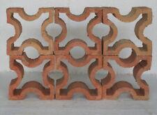 Formziegel Dekorziegel Diagonalkreuz Zierziegel dekorativ Haus Garten Terrasse
