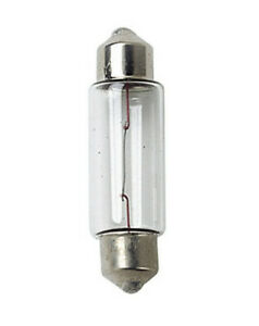 Lampada siluro 11x35 mm Dieci pz Scatola Lampadine alogene camion ricambio