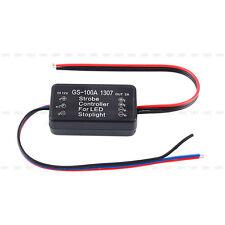 Auto Car LED Brake Stop Control Light Module Flash Strobe Controller 12V-24V