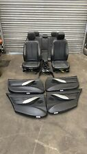 bmw f30 M Sport Black leather interior
