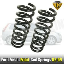 Ford Fiesta Mk5 MK6 Front Coil Springs 2 Road Spring 02-09 Standard Suspension