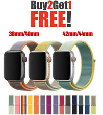 2020 NEW Colors Woven Nylon Band For Apple Watch Loop iWatch Series 5/4/3/2/1