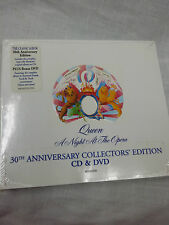 A Night at the Opera by Queen 30th anniversary collectors' edition CD & DVD