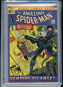 Amazing Spiderman #102 CGC 8.5 OW pages Origin Morbius