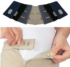 Waist Extenders Trouser Expanders Maternity Womens Mens Jeans Elastic Pregnancy