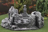 """Ziterdes 6079109 Statue """"Erkenntnis"""" mit Ruine"""