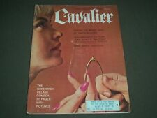 1963 MARCH CAVALIER MAGAZINE - MISS MARCH WEEKEND - GREAT COVER - SP 5999