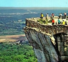 Rock City Lover's Leap Lookout Mountain Attraction GA TN Vintage Postcard