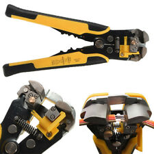 Automatic Cable Wire Crimper Crimping Tool Stripper Self Adjustable Plier Cutter