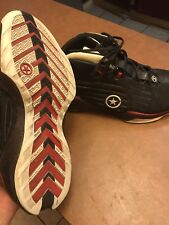 Wade Converse 4 Extremely Rare Size 11.5 Black Red White