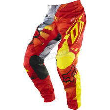 Fox Red/Yellow 180 Radeon Pants - 06415-080-28