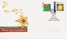 2003 Australia - Seasons Greetings - Peace and Goodwill Fdi Fdc