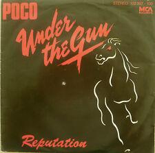 "7"" 1980 ! POCO : Under The Gun // RARE IN MINT- ! \"