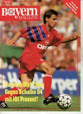 BL 91/92 FC Bayern München - FC Schalke 04, 20.08.1991