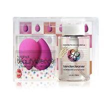 BeautyBlender 2 Eponges Maquillage + Nettoyant/ 2 Make-up Sponzen + Cleanser NEW