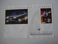 advertising Pubblicità 1987 LANCIA PRISMA