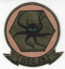 Hsc-28 Dragon Whales Od Green Command Chest Patch
