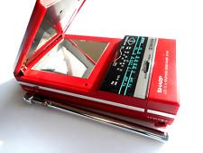 1986 Sharp Cassette Player AM-FM Radio LCD Analog TV JC-TV10 - Fully Functional