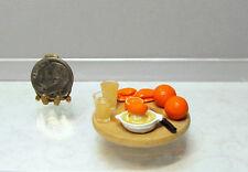 Dollhouse Miniature Handcrafted Orange Juice in Process Board