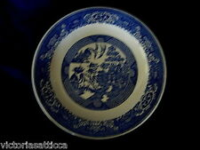 """Collectible Vintage 1930's-40's Blue Willow 11 3/4"""" Round Platter-Made in U.S.A."""