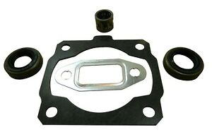 CYLINDER & EXHAUST GASKET, PISTON BEARING & SEALS FITS STIHL 020T MS200 MS200T
